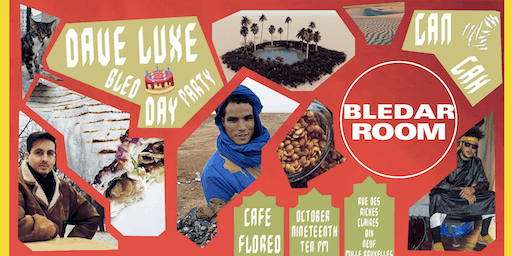 Bledar Room special bday with Dave Luxe, Gan Gah