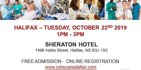 Halifax Healthcare Profession Job Fair - October 22nd, 2019 tickets