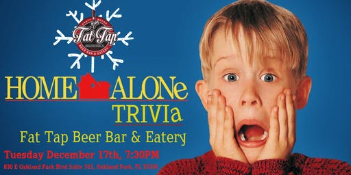 Home Alone Trivia at Fat Tap Beer Bar & Eatery
