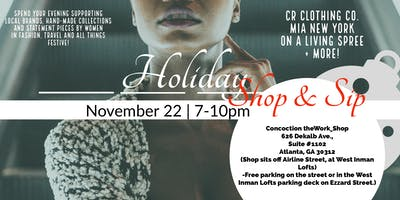 Slay Holiday Shop & Sip