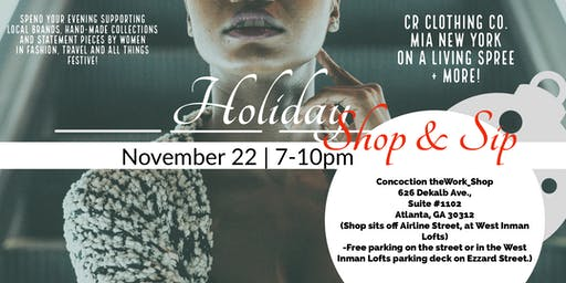 Slay Holiday Shop & Sip