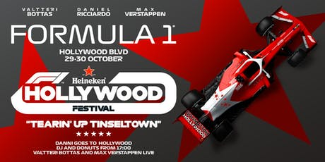 F1 HOLLYWOOD FESTIVAL tickets