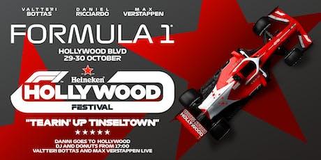 F1 HOLLYWOOD FESTIVAL tickets
