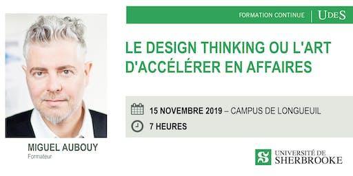 Formation Design Thinking ou l'art d'accélérer en affaires
