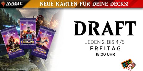 Magic: DRAFT - Thron von Eldraine Saison Tickets