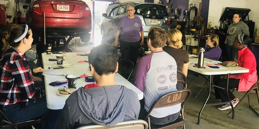 Tires, Wheels & Brakes - a Workshop for Women