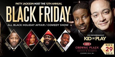All Black Friday Holiday 12TH Annual Affair with Big Scott & Friends