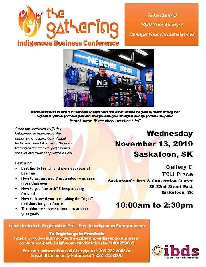 The Gathering Indigenous Business Conference -  Shift Your Mindset image