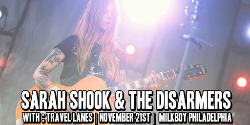 Sarah Shook & The Disarmers w/ Travel Lanes