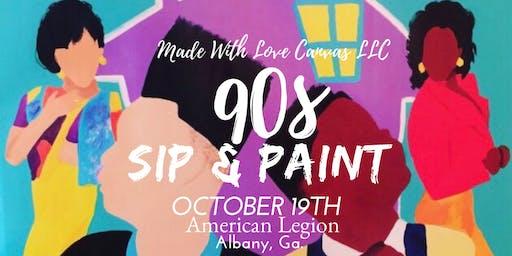 90s Sip & Paint