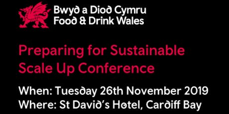 Preparing for Sustainable Scale Up Conference tickets