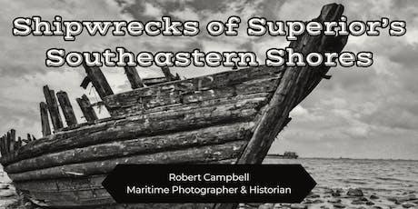 Shipwrecks of Superior's Southeastern Shores tickets