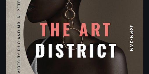 THE ART DISTRICT: An Influencer Warehouse Mixer