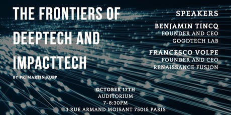 The frontiers of DeepTech and ImpactTech billets