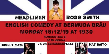 English Comedy  from London BERMUDA BRÄU in Vienna Tickets