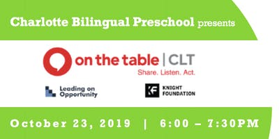 Charlotte Bilingual Preschool presents On the Table | Finding Home