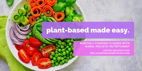 Plant-Based Cooking Made Easy tickets