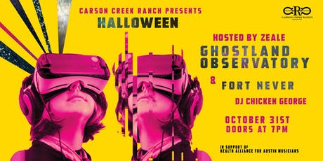 Carson Creek Ranch Presents Halloween with Ghostland Observatory tickets