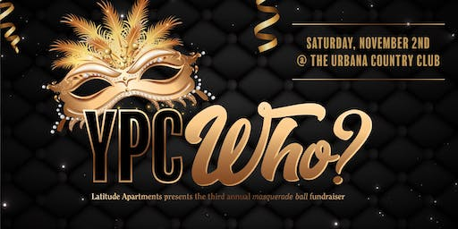 Third Annual YPC-Who Masquerade Presented by Latitude Apartments