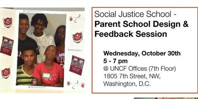 Social Justice School Parent School Design & Feedback Session