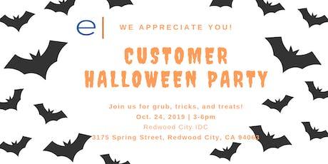 Customer Appreciation Happy Hour - Evoque Redwood City Data Center tickets