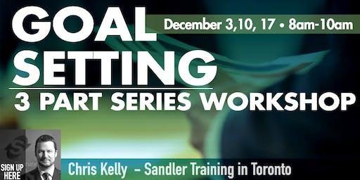 Goal Setting Workshop - 3 Part Series Workshop