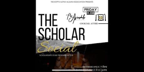 Kappa Alpha Scholars Social tickets