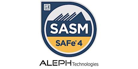 SAFe® Advanced Scrum Master (SASM) - Seattle, WA tickets