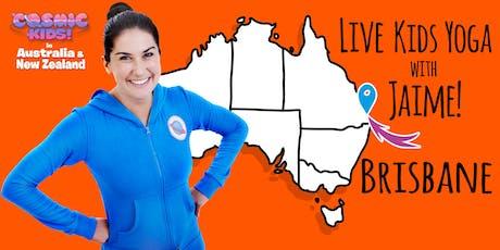 Live Kids Yoga with Jaime in Brisbane tickets