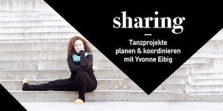 """Ground Conference #8 - Workshop """"Tanzprojekte organisieren"""" Tickets"""