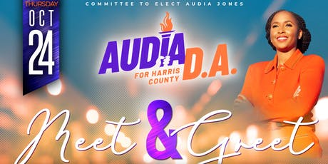 Meet & Greet  Audia Jones, Candidate for Harris County District Attorney tickets