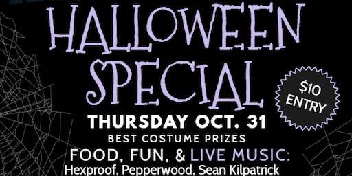 Pepperwood Presents: HALLOWEEN