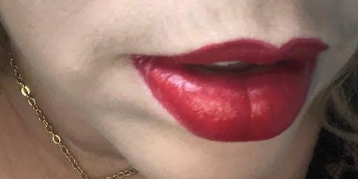Taller:  A mal tiempo, labios rojos.