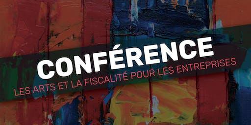 Conférence ''Les arts et la fiscalité pour les entreprises''