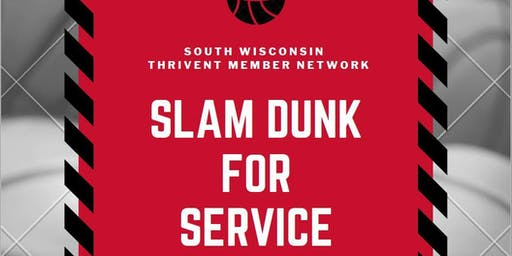 Thrivent Annual Member Meeting-Slam Dunk for Service
