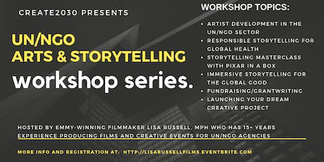 Create2030 Workshop (SXSW):  Arts & Storytelling in the UN/NGO Sector tickets