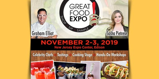 Great Food Expo, November 2-3, 2019