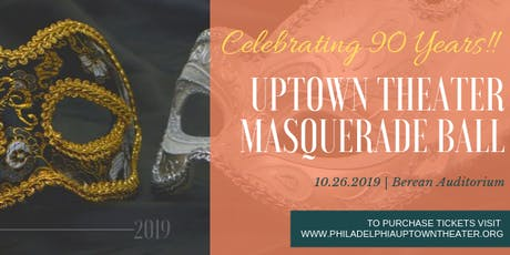 Uptown Theater Masquerade Ball tickets