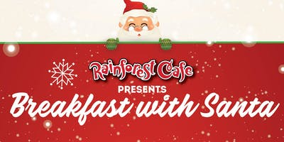 Breakfast with Santa - Galveston Rainforest Cafe