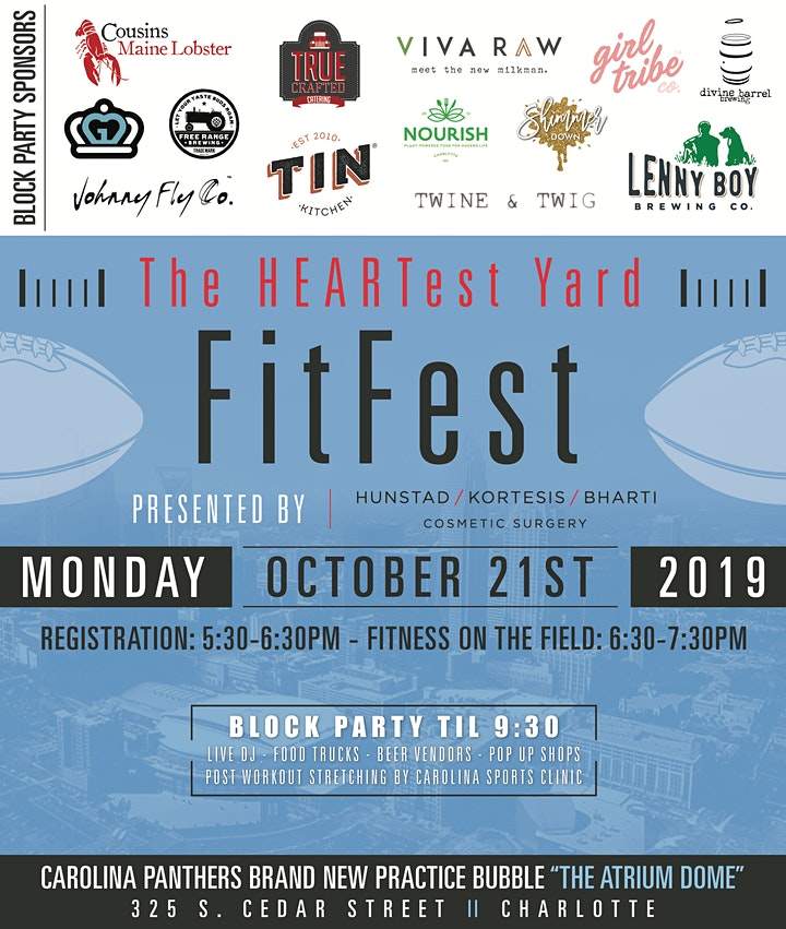 The HEARTest Yard FitFest image