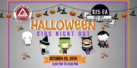 GB Chino Kids Night Out Halloween Party tickets