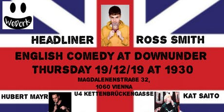 English Comedy from London at DOWNUNDER in Vienna Tickets