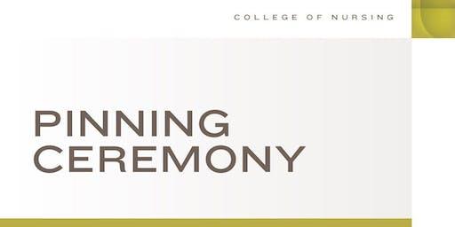College of Nursing Pinning Ceremony