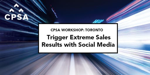 CPSA Workshop– Using Social Media to Capture New Customers
