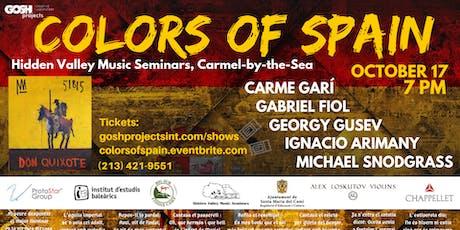 COLORS OF SPAIN | Georgy Gusev, Nacho Arimany, Carme Garí, Gabriel Fiol tickets