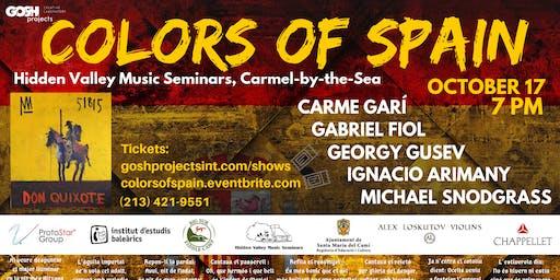 COLORS OF SPAIN | Georgy Gusev, Nacho Arimany, Carme Garí, Gabriel Fiol