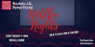 Uni Hall Netflix Nights | Nosweithiau Netflix Neuadd y Brifysgol
