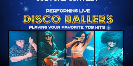 Halloween Costume Contest with DISCO BALLERS tickets