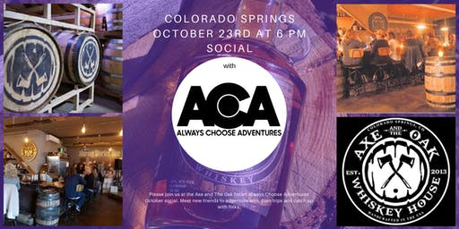 Colorado Springs October Social