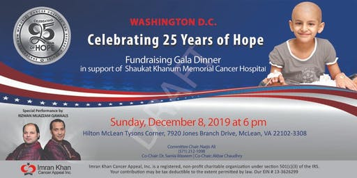 Fundraising Gala Dinner in Washington D.C